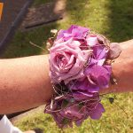 Hochzeit Handschmuck mit Rosen und Hortensien