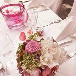 Hochzeit Tischdekoration